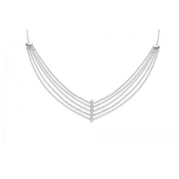 Collar Triple de Plata Naiomy