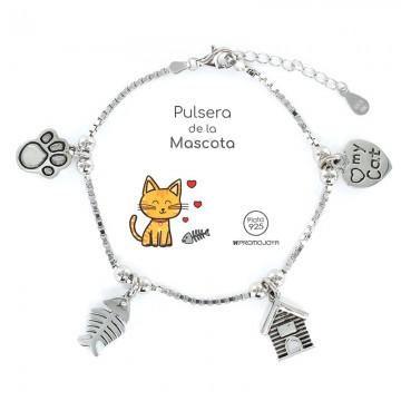 """Pulsera """"Eres lo más"""" Mascotas Gato"""