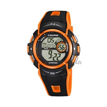 Reloj Calypso Digital Naranja