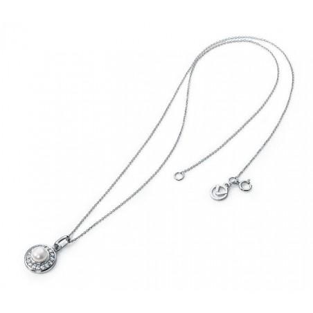Collar de Plata con circonitas y madre perla Viceroy