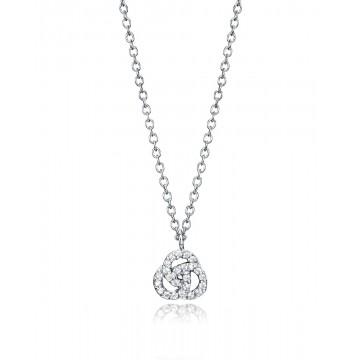 Collar de Plata con Circonitas 5073C000-38