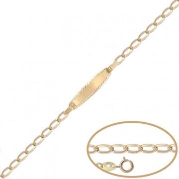 Esclava de Oro 18kts  - 12cm