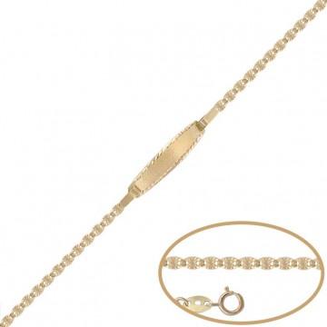 Esclava de Oro 18kts - 11.50cm