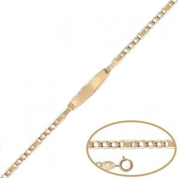 Esclava Oro 18kts -12cm
