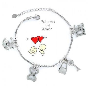 """Pulsera """"Eres lo más"""" Amor"""
