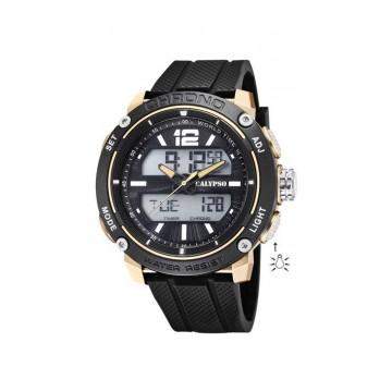 Reloj Calypso Analogico-Digital Negro K5796/3