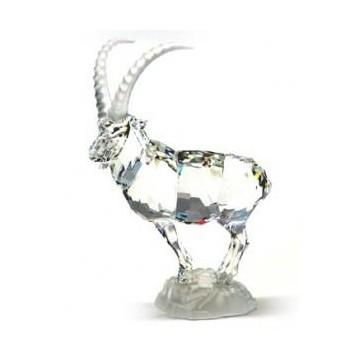 Figura de Cristal de Swarovski - Cabra Montesa