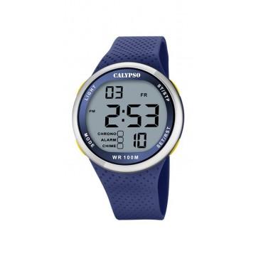 Reloj Calypso Digital Azul