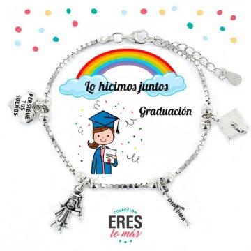 Pulsera Lo hicimos juntos Graduacion