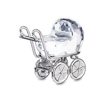 Figuras de cristal de Swarovski - Cochecito Bebé
