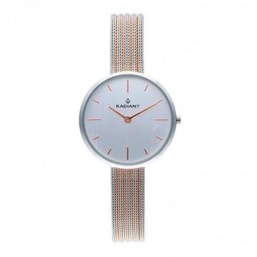 Reloj Radiant Celine Silver Dial 2Tone
