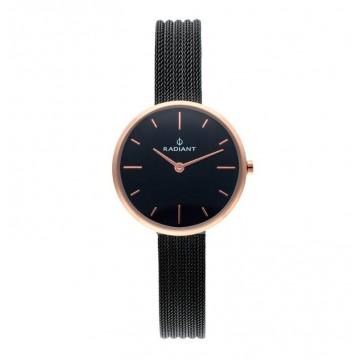 Reloj Radiant Celine Black Dial SS MEsh