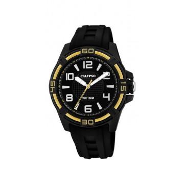 Reloj Calypso Analógico Negro