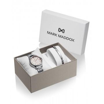 Pack Reloj Mark Maddox con Pulsera MM7145-03