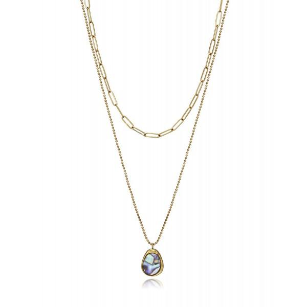 Collar Doble Cadena Viceroy Chic 15074C01012
