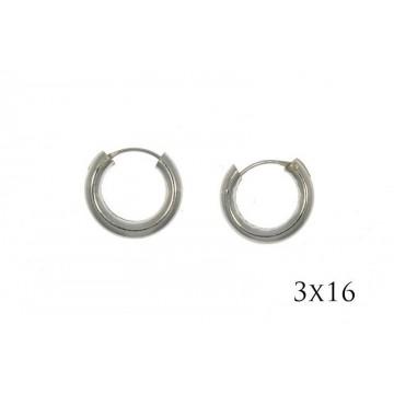 Pendientes Aro 3x16