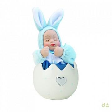 Bibelot Huevo c/bebé