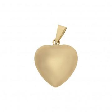 Colgante Oro 18K Corazón 10x11mm