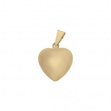Colgante Oro 18k Corazón 8x10mm
