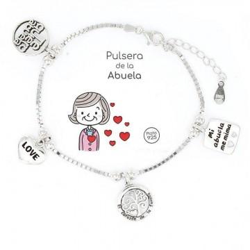 """Pulsera """"Eres lo más"""" Abuela"""