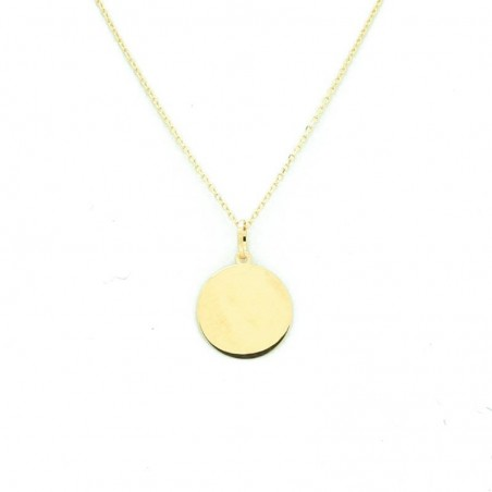Collar Oro Chapa 10mm