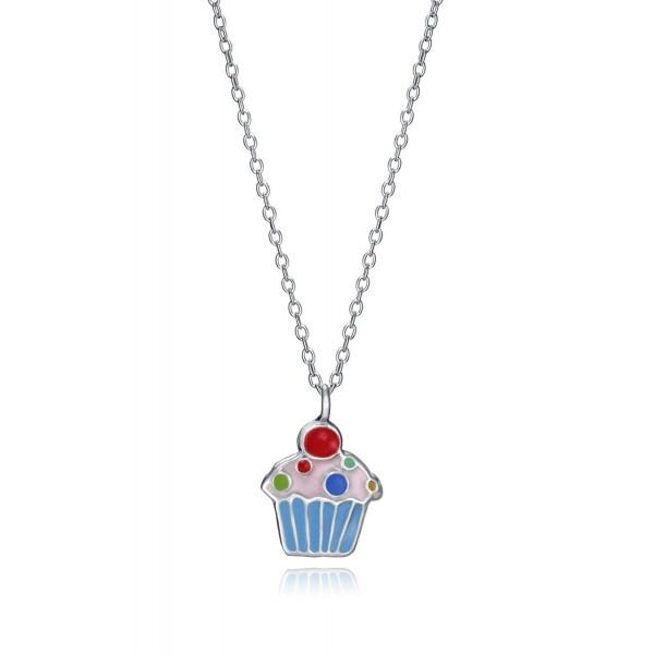 Collar de Plata Viceroy Cupcake esmalte
