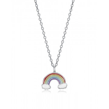 Collar de Plata Viceroy Arco Iris esmalte