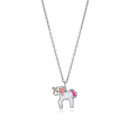 Collar de Plata Viceroy Unicornio esmalte