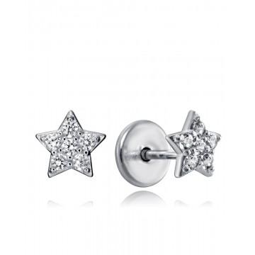 Pendientes de Plata Viceroy Estrella