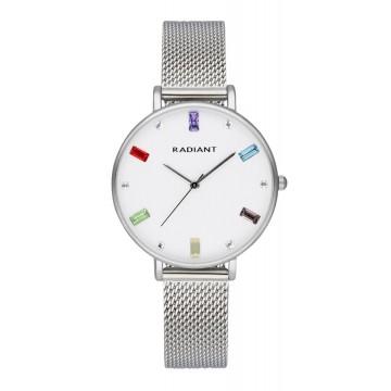 Reloj Radiant Tiara Silver Mesh