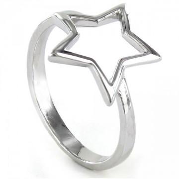 Anillo de Plata Estrella