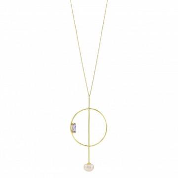 Collar Circular minimalista...