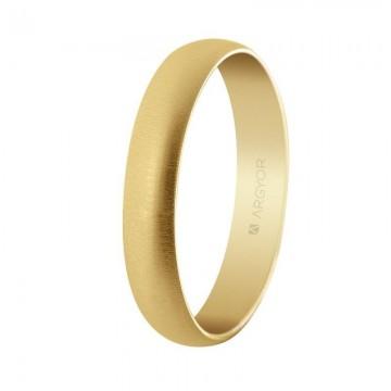 Alianza de boda oro 4mm...